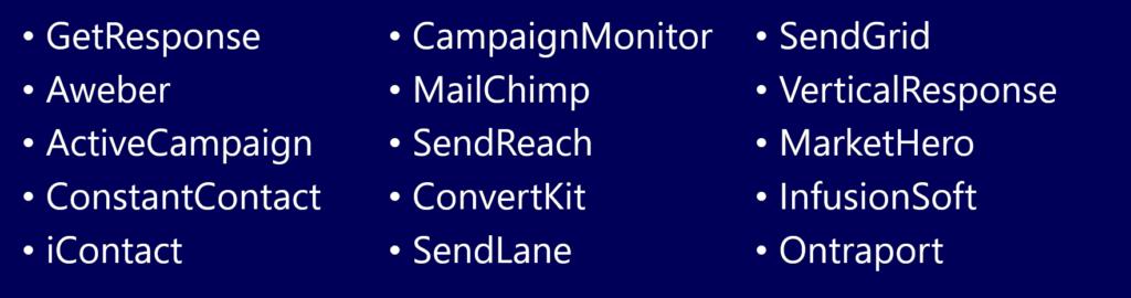Email Auto responders
